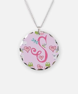 Pinky Initial - S Necklace