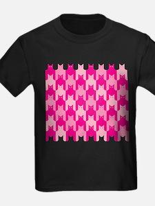 Pink CatsTooth T-Shirt