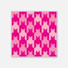 Pink CatsTooth Sticker