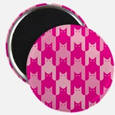 Pink CatsTooth Magnets