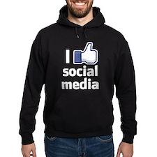 I Like Social Media Hoodie