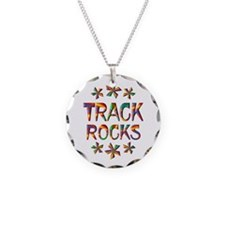 Track Rocks Necklace