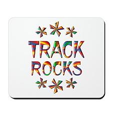Track Rocks Mousepad