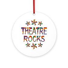 Theatre Rocks Ornament (Round)