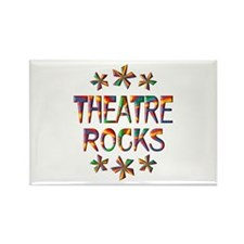 Theatre Rocks Rectangle Magnet (100 pack)