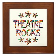 Theatre Rocks Framed Tile