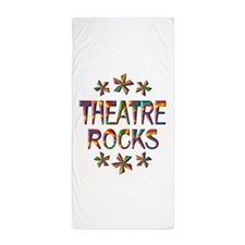 Theatre Rocks Beach Towel
