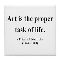 Nietzsche 24 Tile Coaster