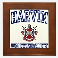 HARVIN University Framed Tile