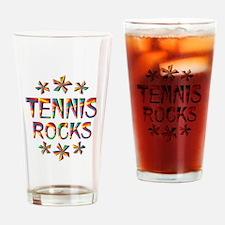 Tennis Rocks Drinking Glass