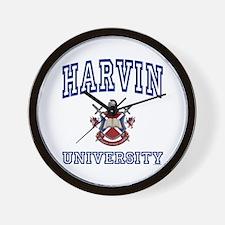 HARVIN University Wall Clock