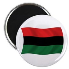 "Pan African Flag 2.25"" Magnet (100 pack)"