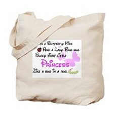 Baby Girl Quote Tote Bag
