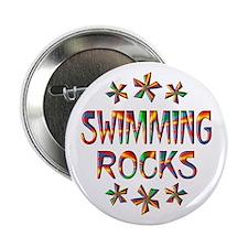 "Swimming Rocks 2.25"" Button"