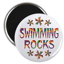 Swimming Rocks Magnet