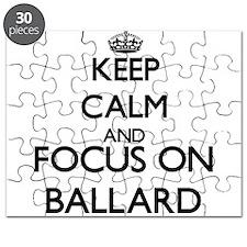 Keep calm and Focus on Ballard Puzzle