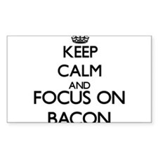 Keep calm and Focus on Bacon Decal