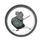 Dun Teager Cap Flight Wall Clock