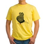 Dun Teager Cap Flight Yellow T-Shirt