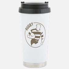 Classic Rugby Stainless Steel Travel Mug