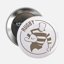 "Classic Rugby 2.25"" Button"