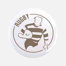 """Classic Rugby 3.5"""" Button"""