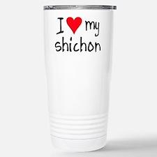 I LOVE MY Shichon Mugs