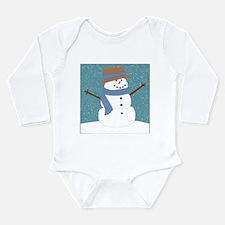 Snowman in Snow Body Suit