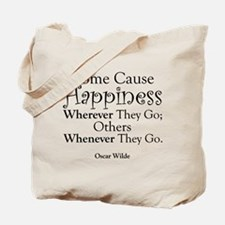 Cause Happiness Tote Bag