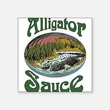 Alligator Sauce Sticker