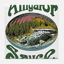 Alligator Sauce Tile Coaster