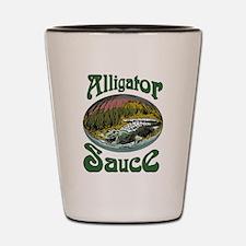 Alligator Sauce Shot Glass