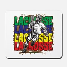 Lacrosse Action Mousepad