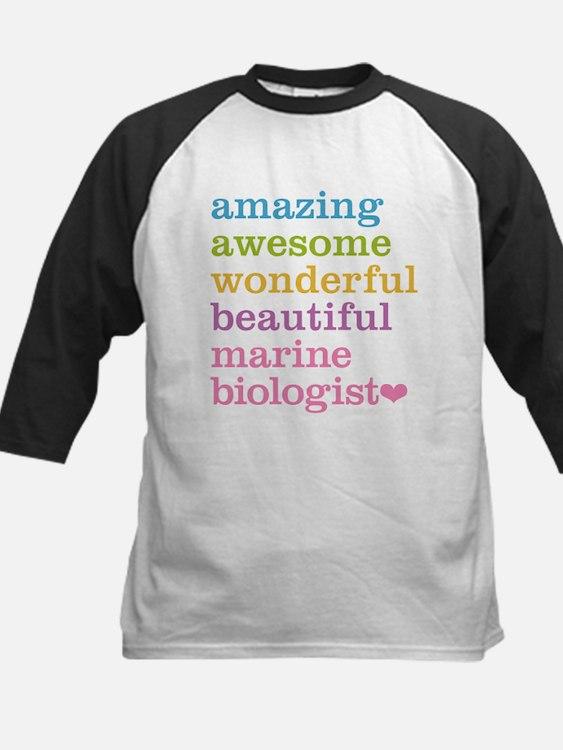 Marine Biologist Baseball Jersey
