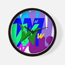 Initial Design (W) Wall Clock