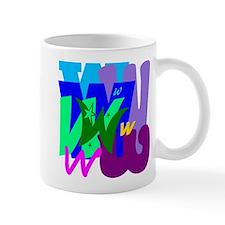 Initial Design (W) Mugs