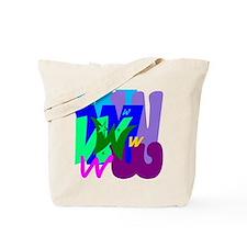 Initial Design (W) Tote Bag