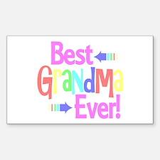 Best Grandma Ever Decal