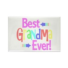 Best Grandma Ever Magnets