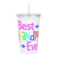 Best Grandma Ever Acrylic Double-wall Tumbler