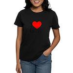 I Love Goethe Women's Pastel T-Shirt
