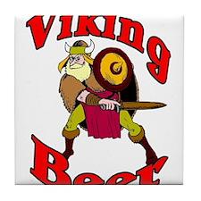 Viking Beer Ale Tile Coaster