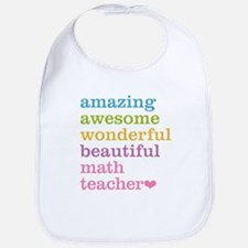 Math Teacher Bib