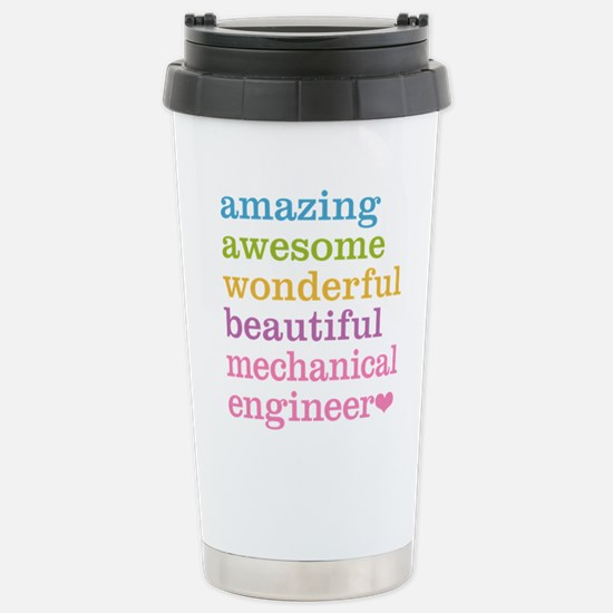 Mechanical Engineer Stainless Steel Travel Mug
