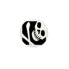 CROSSBONES Mini Button (10 pack)