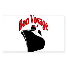 Bon Voyage, Cruise Travel Decal