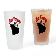 Bon Voyage, Cruise Travel Drinking Glass