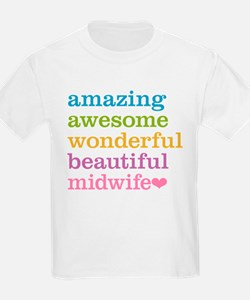 Awesome Midwife T-Shirt
