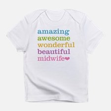 Awesome Midwife Infant T-Shirt