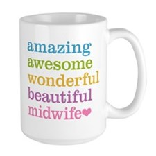 Awesome Midwife Mugs